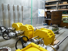 In-tank Shut-off valves in the workshop (TESO)