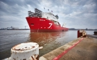IHC launches Subsea 7 pipelay vessel bound for work with Petrobras offshore Brazil