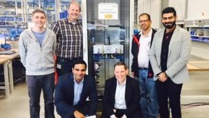The AUMA team and representatives of Shell Oman Marketing SAOG